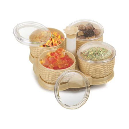 360-revolving-container-set